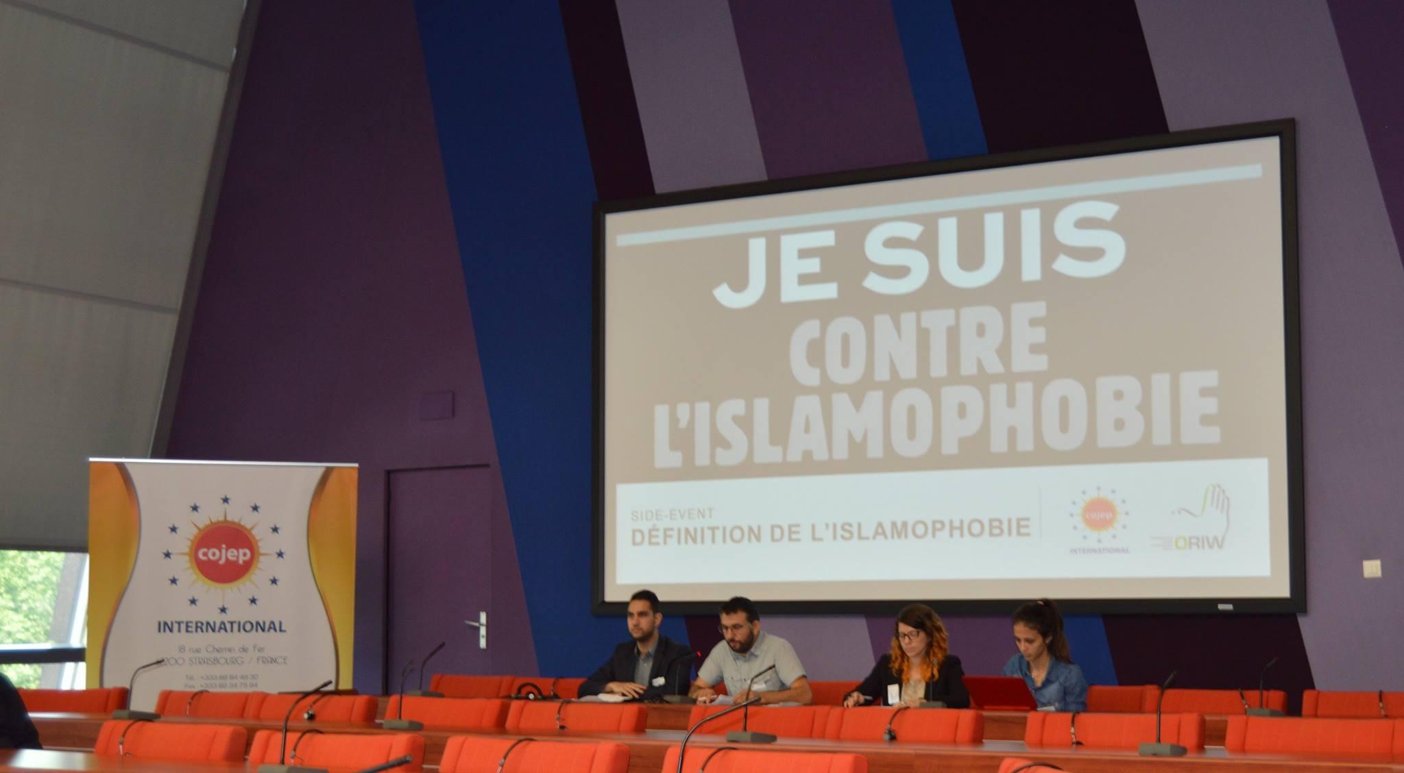 COJEP İslamofobi'yi Avrupa Konseyi'ne Taşıdı