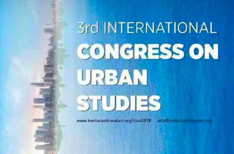 3rd International Congress on Urban Studies.