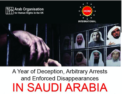 A year of deception, arbitrary arrests and enforced disappearances in Saudi Arabia