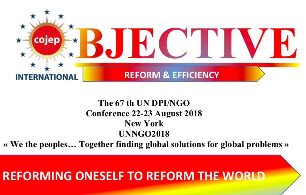 "Project ""Reforming oneself to reform the world"""