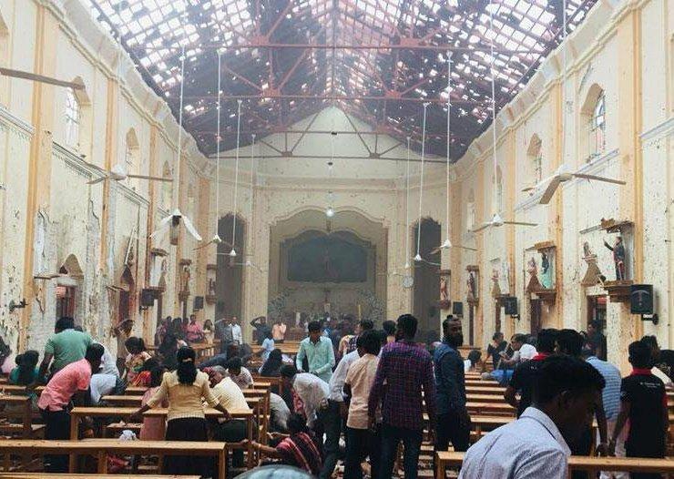Attentats contre des Chrétiens au Sri Lanka