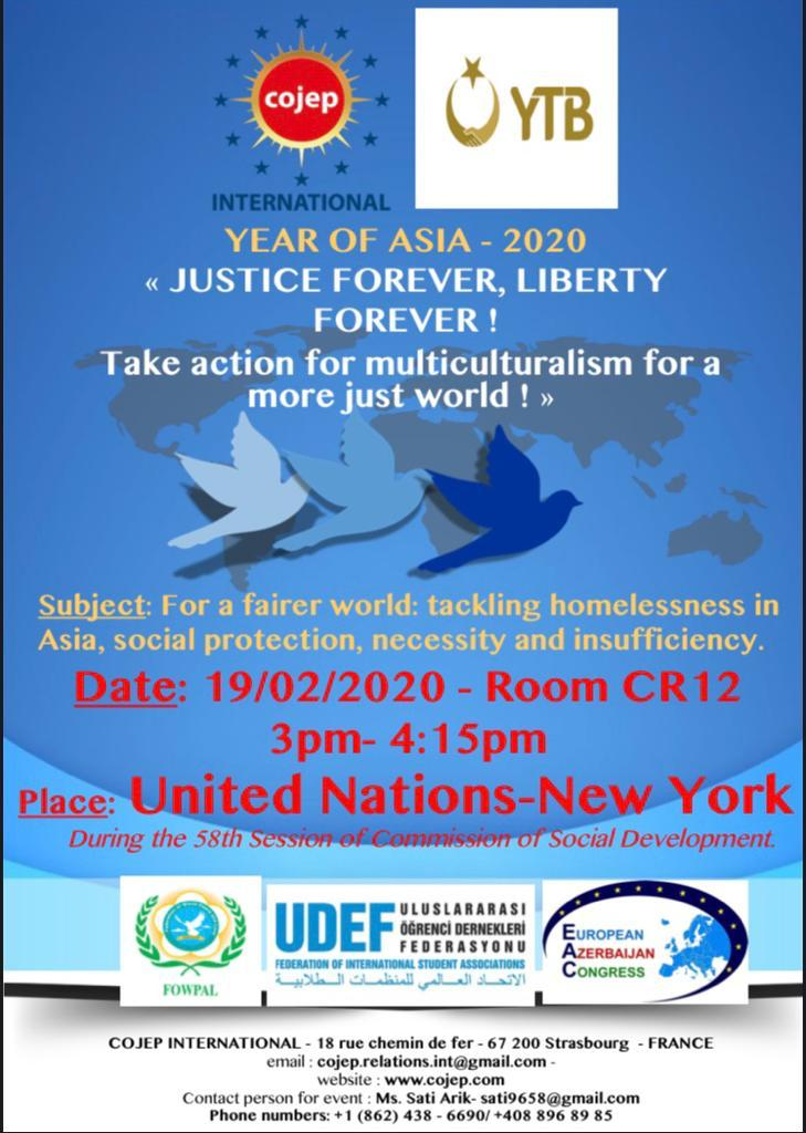 Year of Asia 2020 / New York / Justice Forever, Liberty Forever !