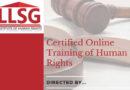 LLSG Human rights certification program is coming soon!