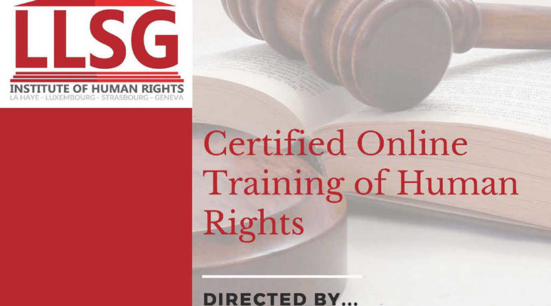 LLSG Human rights certification program is coming soon!