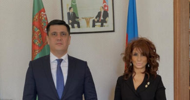 Nushaba Mammadova met with Turkmenistan Ambassador Mekan ISHANGULYYEV