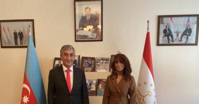 Nüşabə Məmmədova Tacikstan səfiri Rustam SOLI ilə görüştü