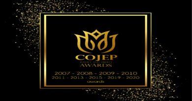COJEP AWARDS 2007 – 2020